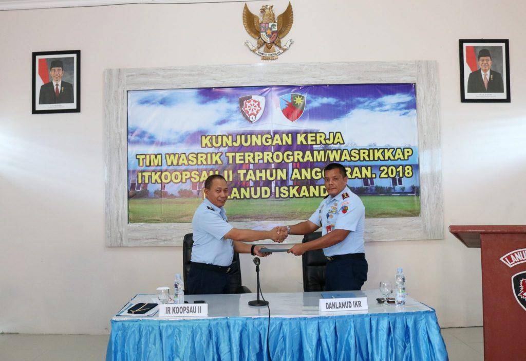 Taklimat Akhir Itkoopsau II di Lanud Iskandar