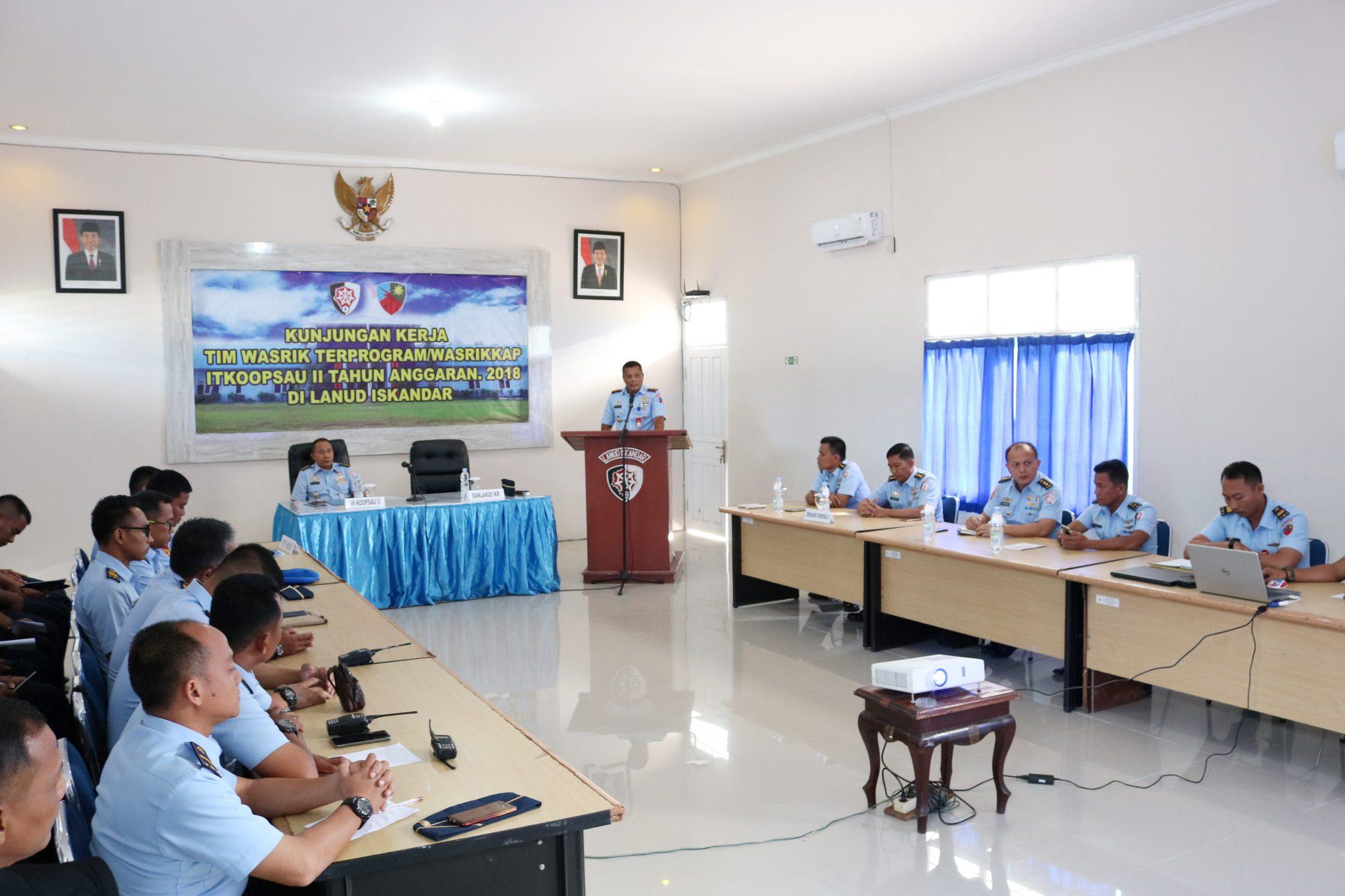 Taklimat Awal ItKoopsau II di Lanud Iskandar