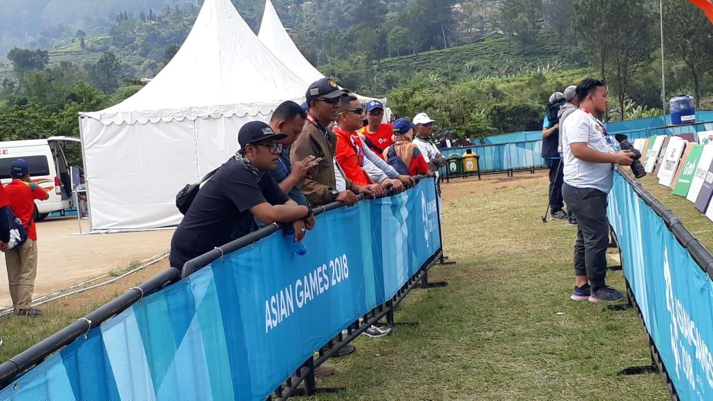 Lanud Atang Sendjaja, di Asian Games XVIII