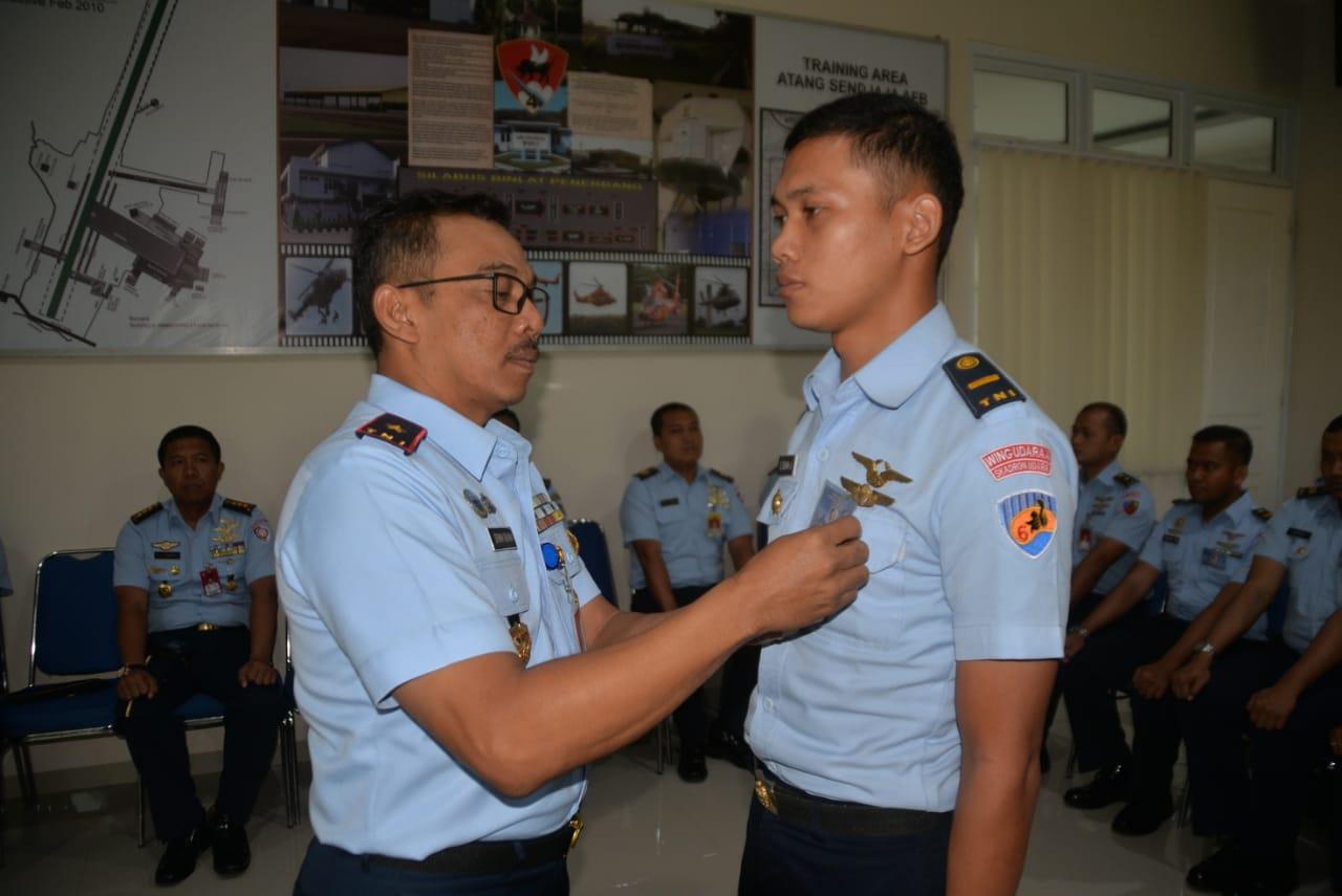 Danlanud Atang Sendjaja Buka Crew Resources Management