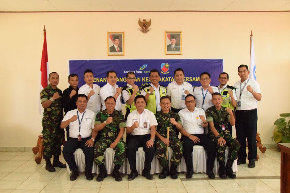 Penandatanganan Kesepakatan Bersama Antara PT Angkasa Pura
