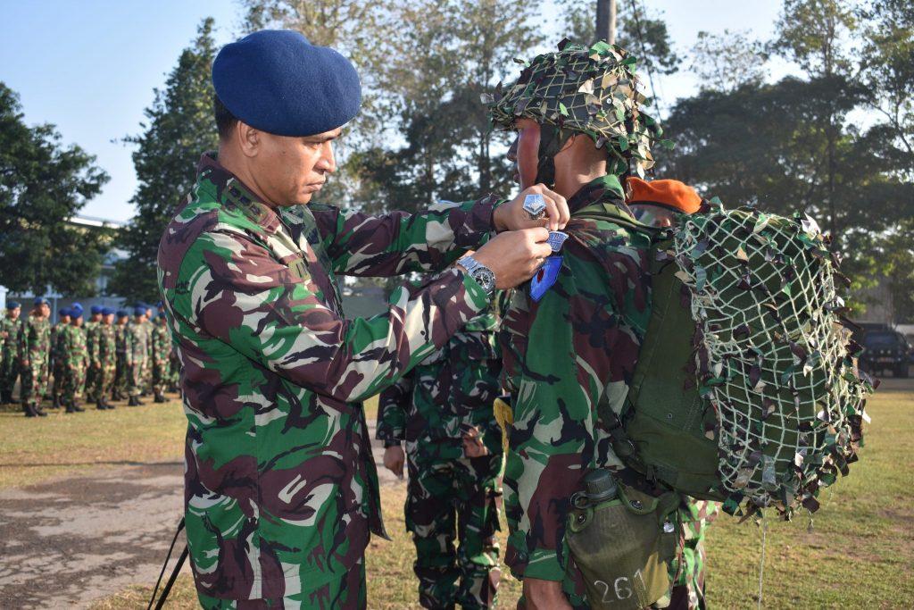 Danlanud Smo Buka Latihan Olah Yuda Prasis Semata PK TNI AU A-75