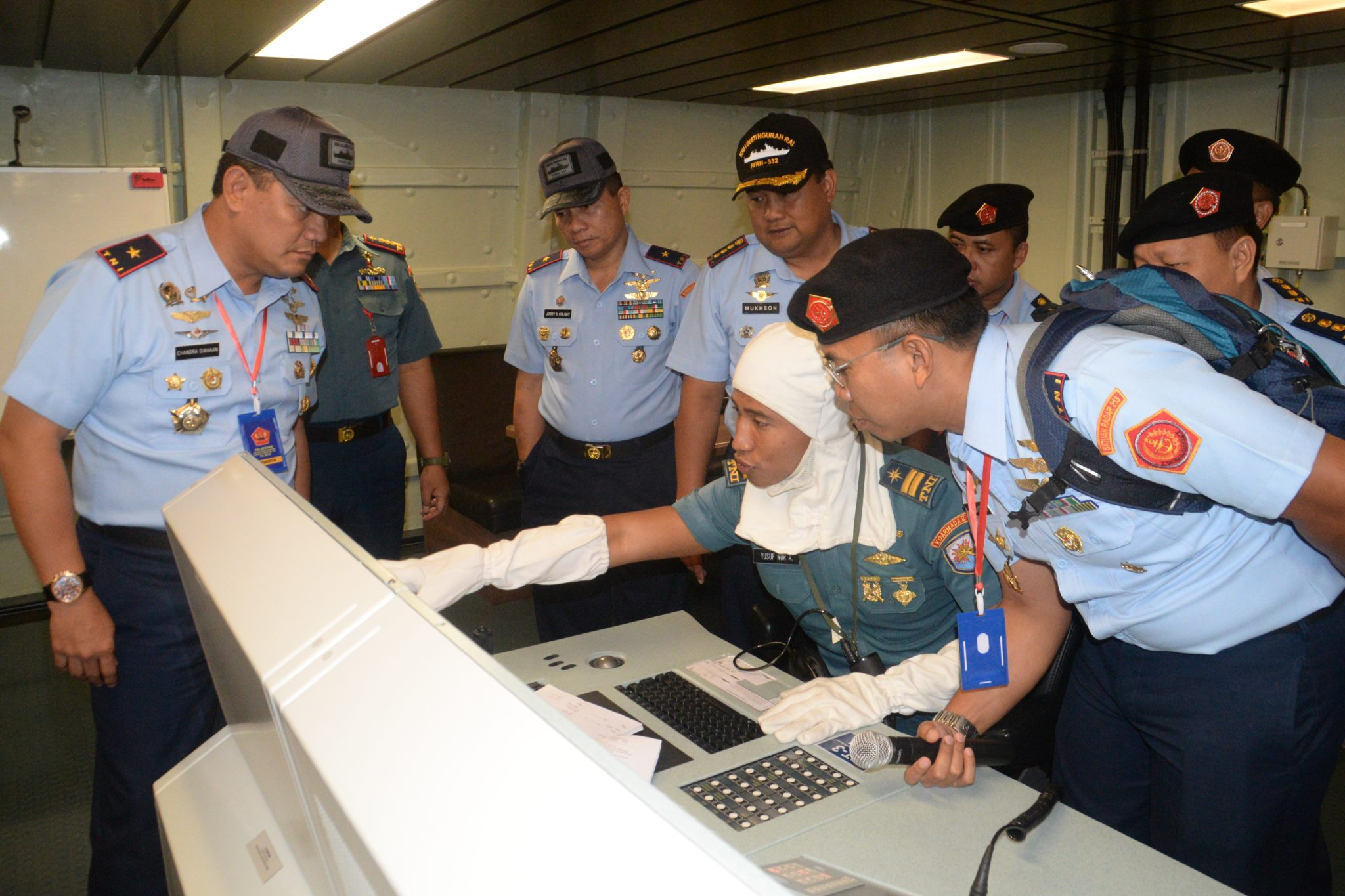 Peserta Pelatihan Sishanudnas XII Kunjungi Armada II Surabaya