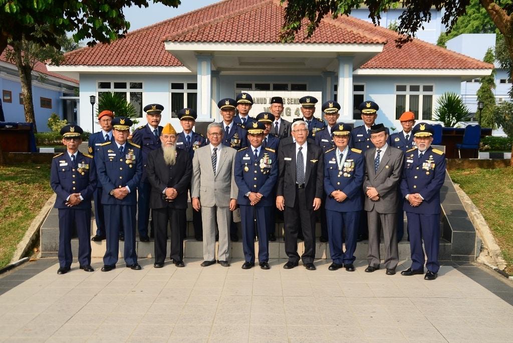 Bersama Lanud Atang Sendjaja Satbravo Peringati Hari Bakti TNI AU Ke -71