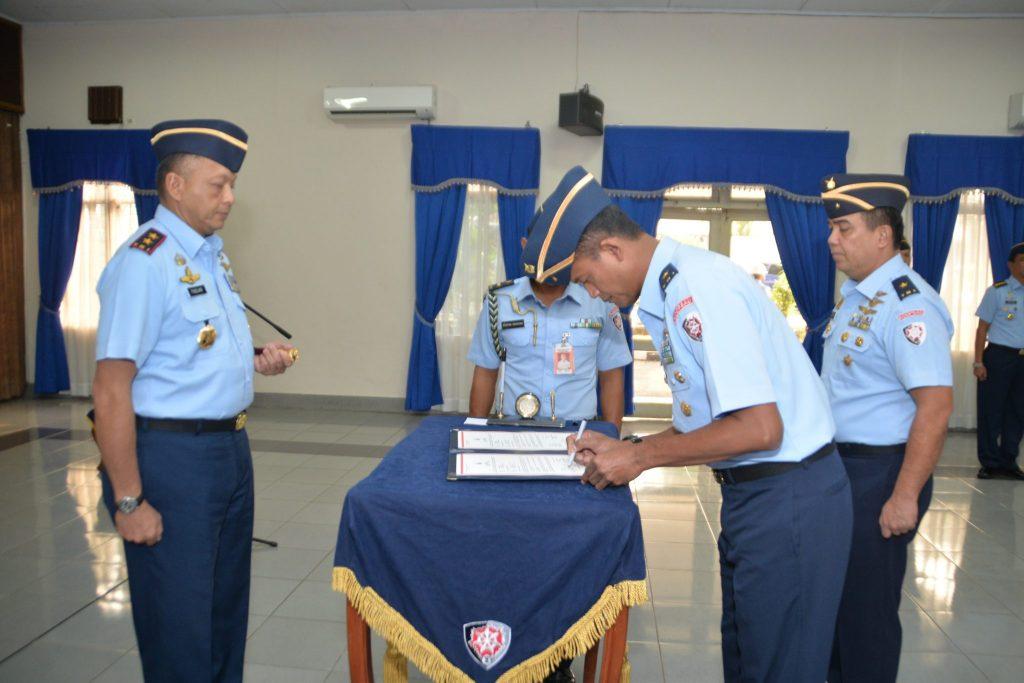 Marsma TNI T.B.H. Age Wiraksono, S.I.P.,M.A Jabat Kas Koopsau II