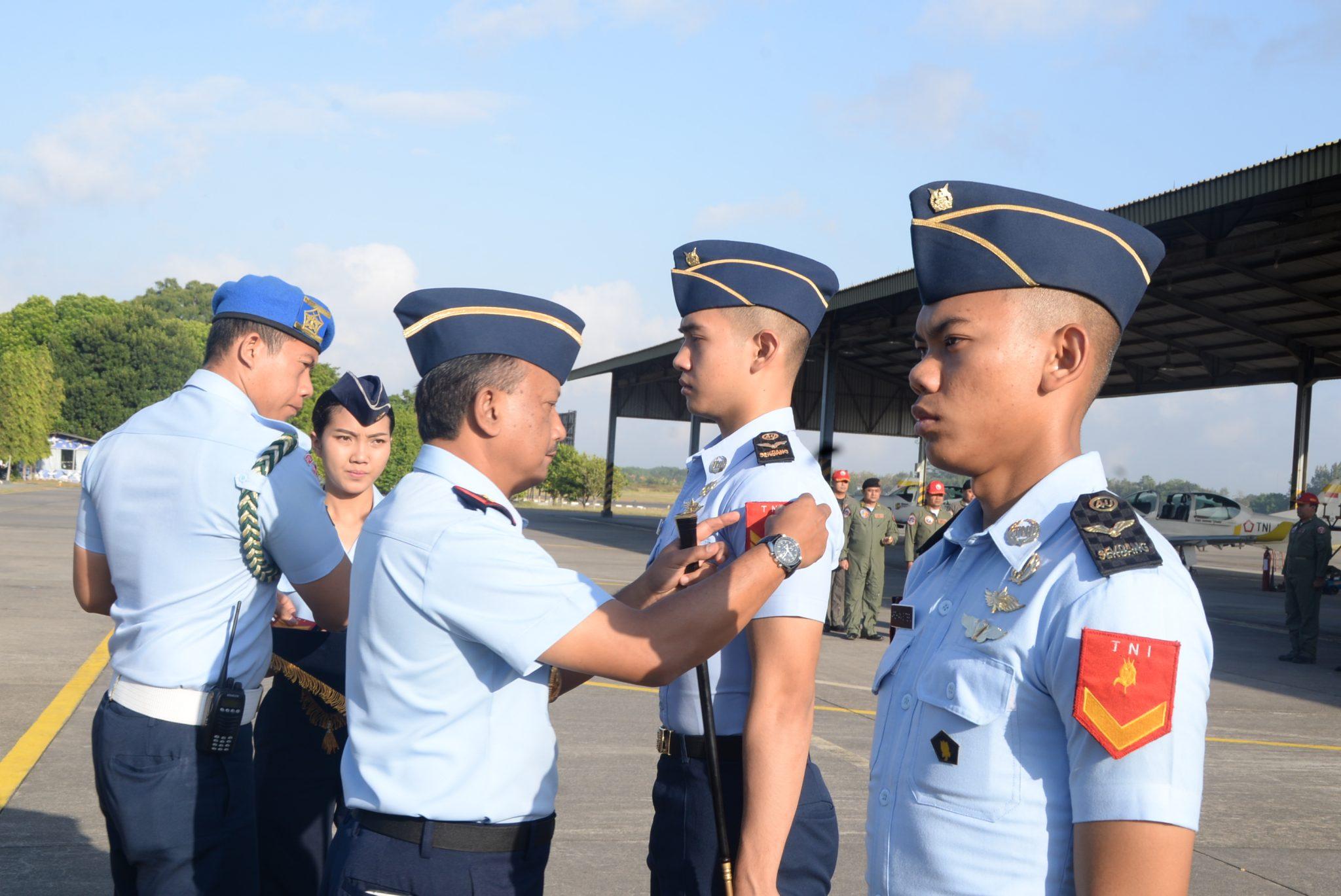 23 Siswa Sekbang PSDP TNI Angkatan 94 dan 96 Mendapat Kenaikan Pangkat