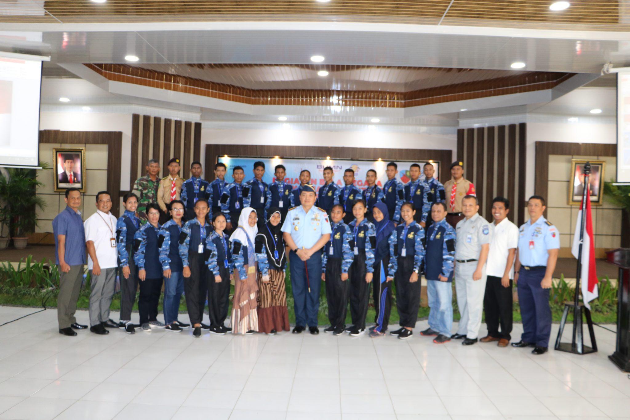 """Danlanud Rsn Buka Pelatihan Bela Negara """"Siswa Mengenal Nusantara"""""""