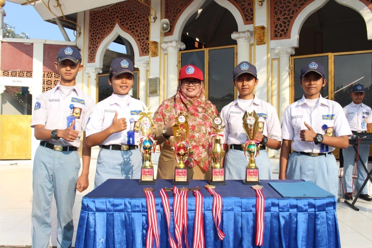 Siswa SMK Penerbangan AAG Adisutjipto Raih Juara di Liga Airsofft Jateng DIY