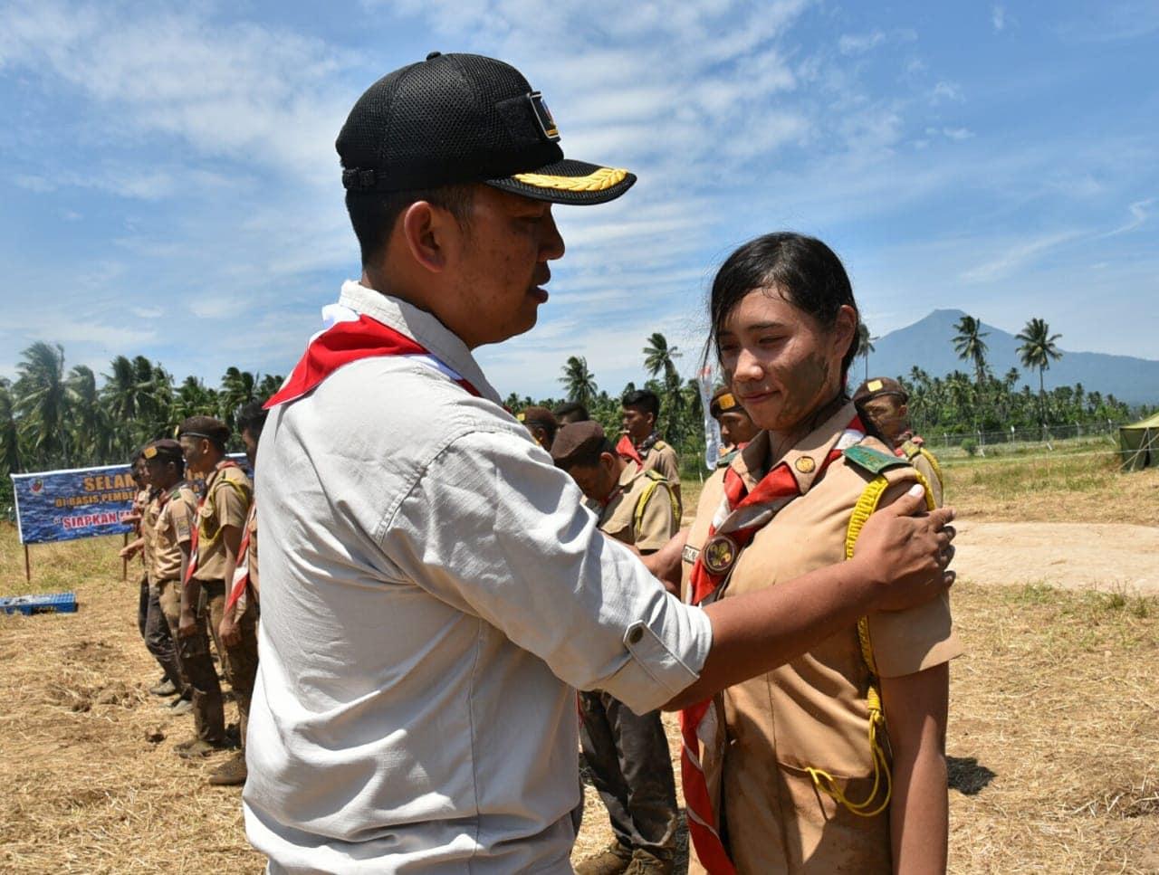 Perkemahan Pengambilan Badge Saka Dirgantara Lanud Sam Ratulangi 2018