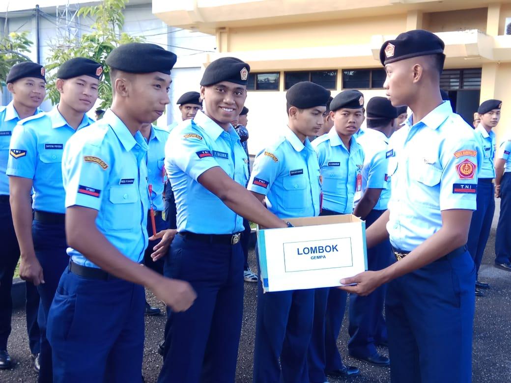 Kosekhanudnas IV Peduli Gempa Lombok