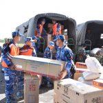 TNI AU Peduli Lombok Salurkan Alat Kesehatan Dari JFC