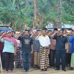 Tim TNI AU Peduli Lombok Peringati HUT RI ke-73 di Posko Pengungsian