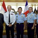 Kenalkan Misi Pegasus AU, Dubes Perancis Kunjungi Mabesau