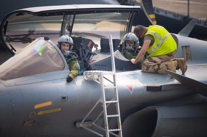 Komandan Skadron Udara 11 Jajal Pesawat Tempur Dassault Rafale