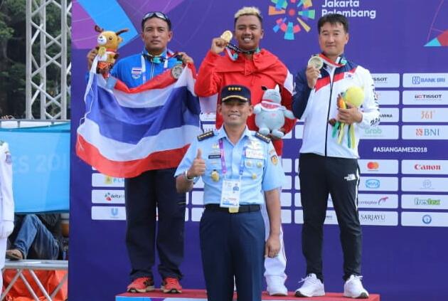 Asian Games 2018 Cabor Binaan TNI AU Kembali Sumbang Medali Emas untuk Indonesia