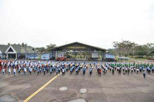 Siap Catatkan Rekor Muri, TNI di Kalbar Mulai Latihan Tari Gemu Famire
