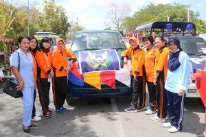 Danlanud El Tari Menghadiri Semarak Pawai Pembangunan di Kota Kupang