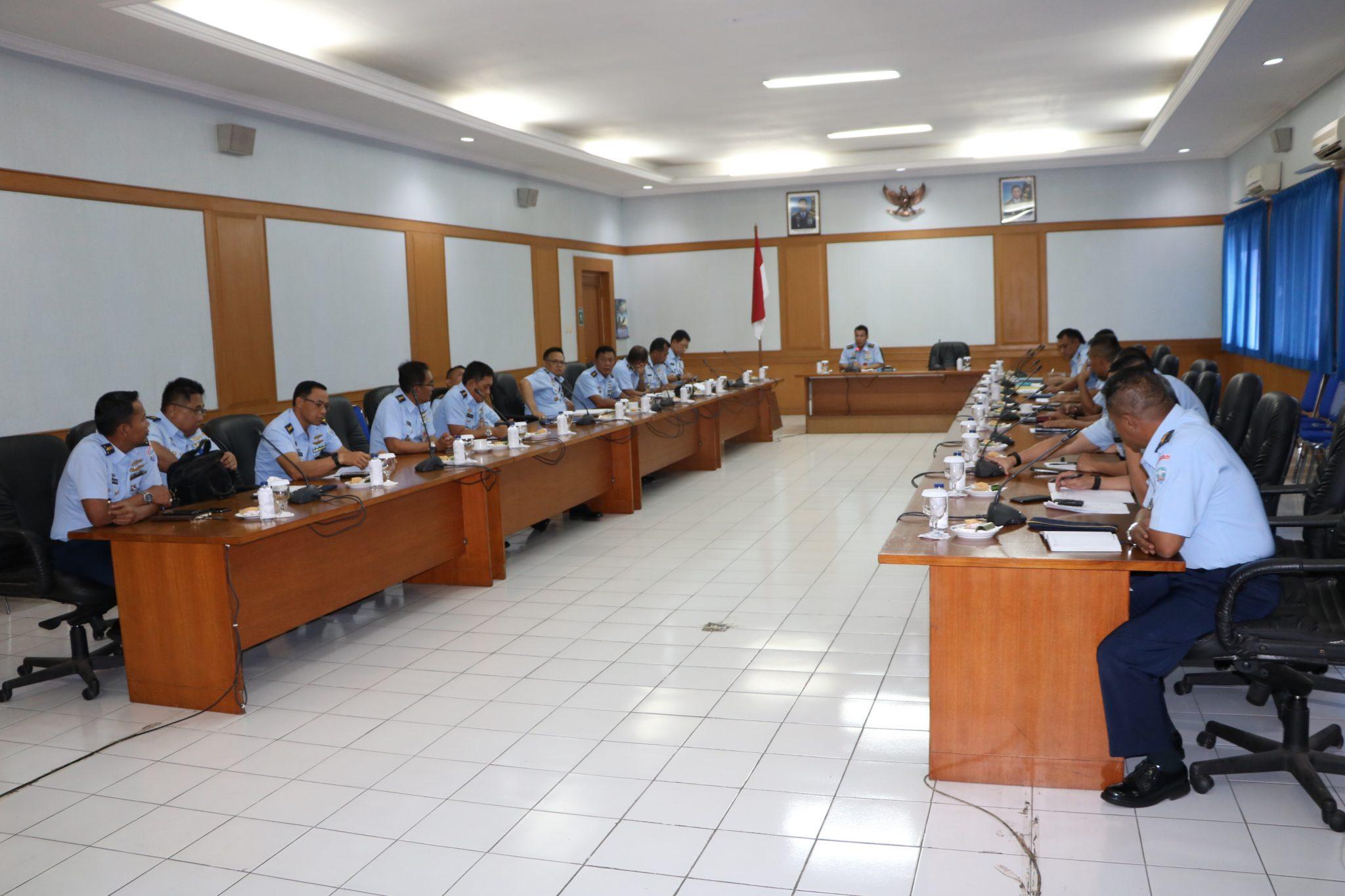 Rapat Pemeliharaan Genset TA 2019 di Mako Koharmatau