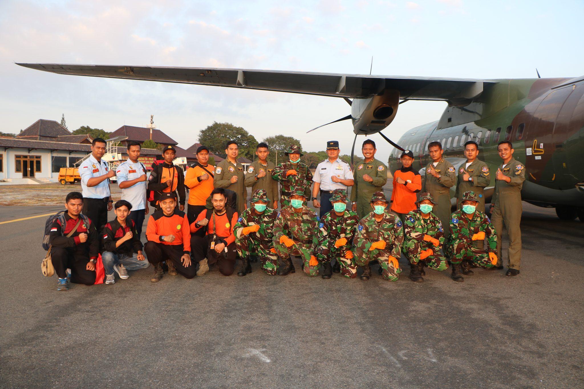 67 Ton Bantuan Gempa Lombok Telah Dikirim dari Posko Lanud Smo