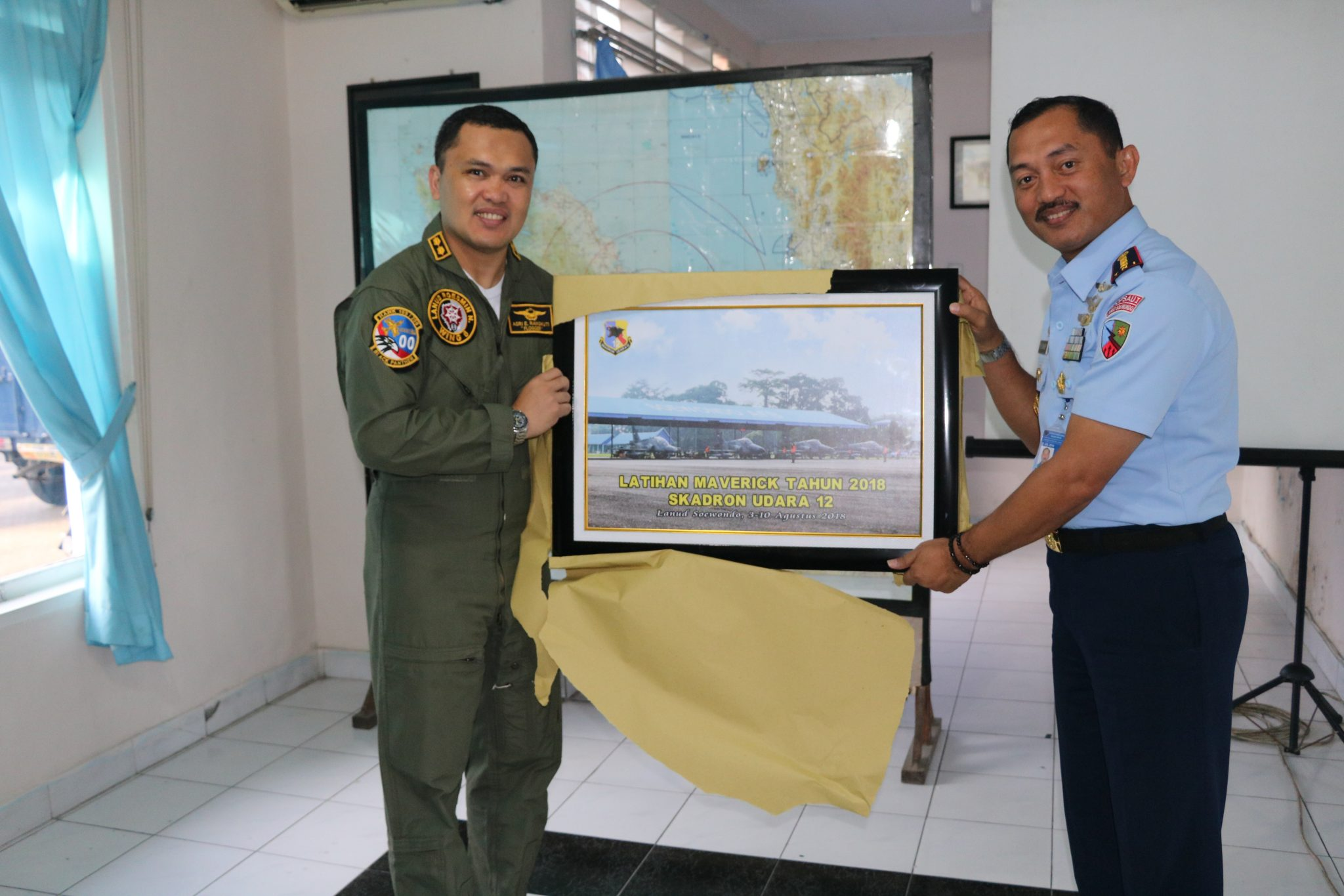 Pesawat Tempur Hawk 100/200 Pull Out dari Lanud Soewondo