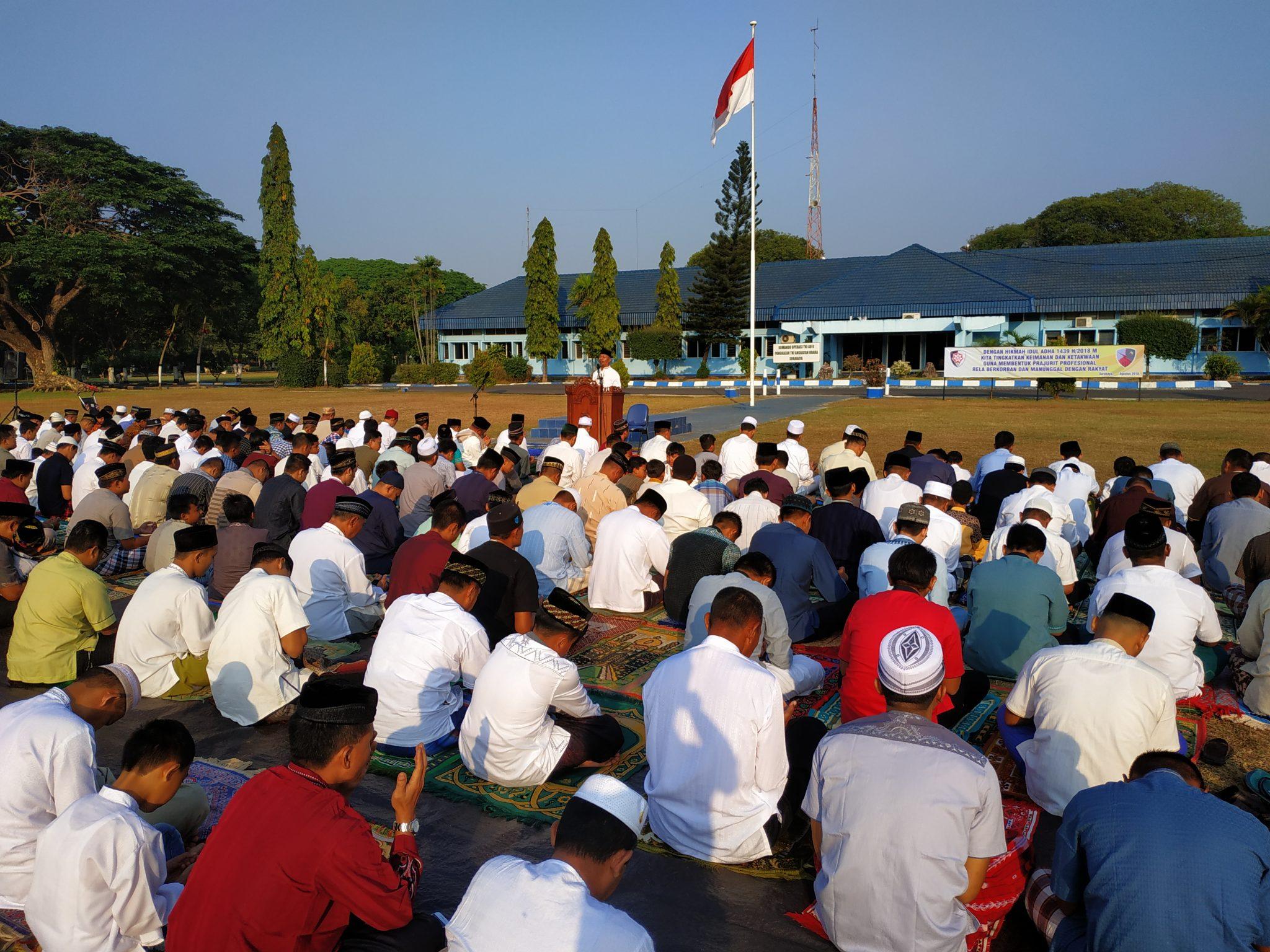 Lanud Muljono Peringati Hari Raya Idul Adha Bersama Masyarakat