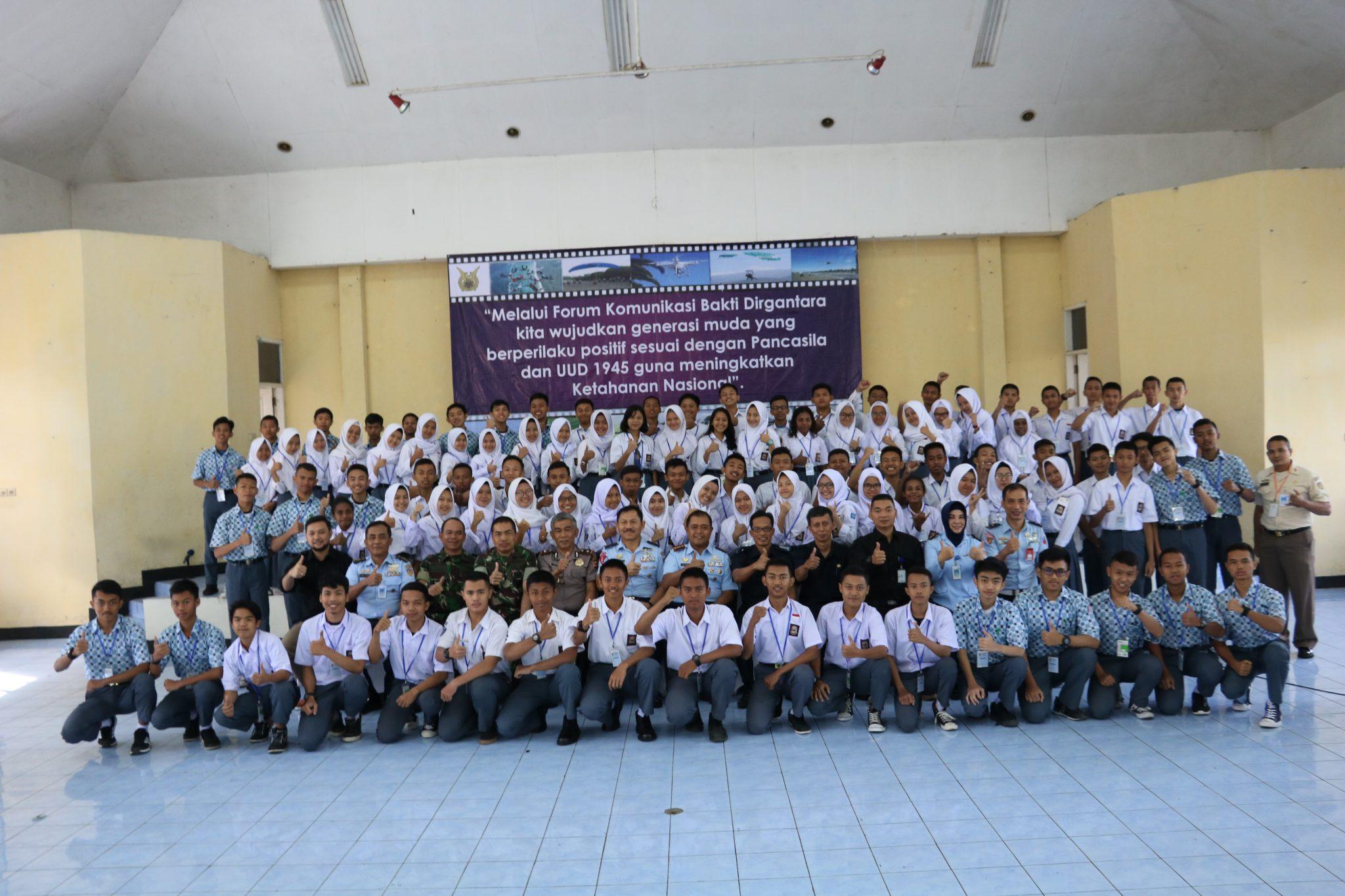 Forum Komunikasi Bakti Dirgantara T.A 2018 di Lanud Sulaiman
