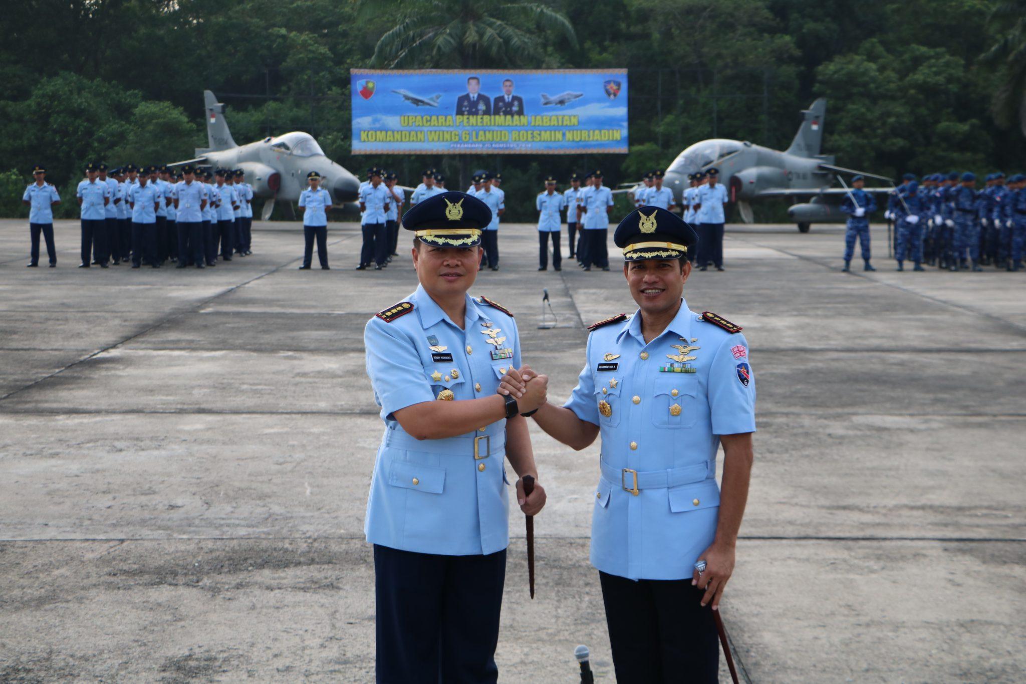Kolonel Pnb M. Yani Amirullah Jabat Danwing 6
