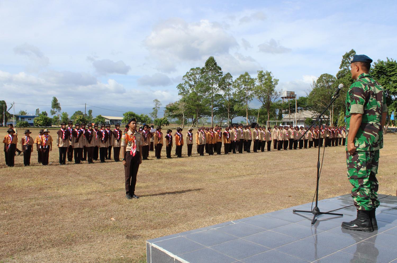 Saka Dirgantara Lanud Sim Gelar Lomba Keterampilan Baris-Berbaris Dirgantara Aceh 1