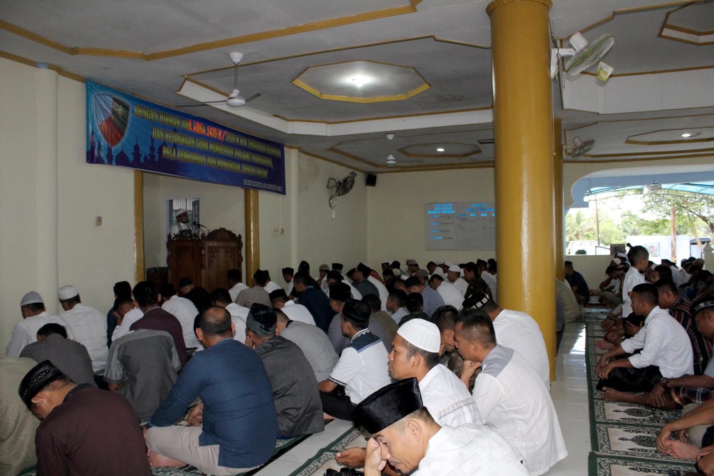 Danlanud SIM : Hikmah Ibadah Idul Adha Qurban 1439 H