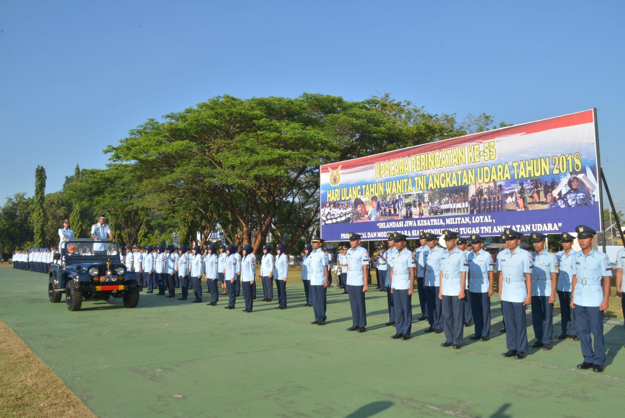 Upacara Peringatan Hut WARA ke-55 di Makassar