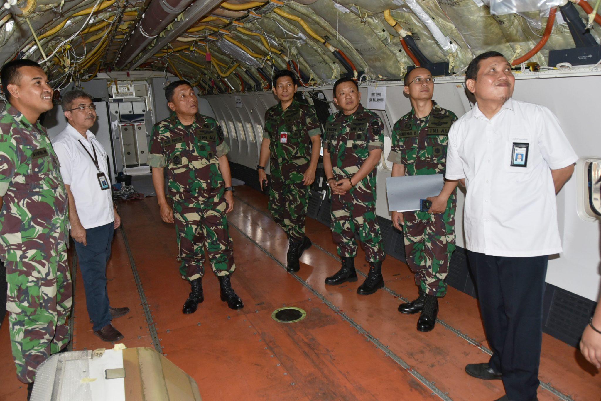 Rapat Evaluasi Pelaksanaan Check D Pesawat Boeing B-737