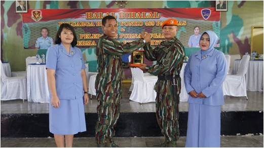 Wisuda Purna Tugas Prajurit Batalyon Komando 469 Paskhas