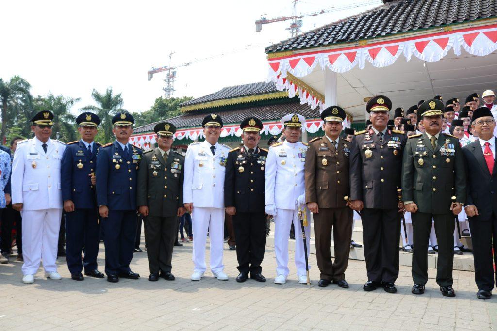 Peringatan Ke-73 HUT RI di Kota Medan
