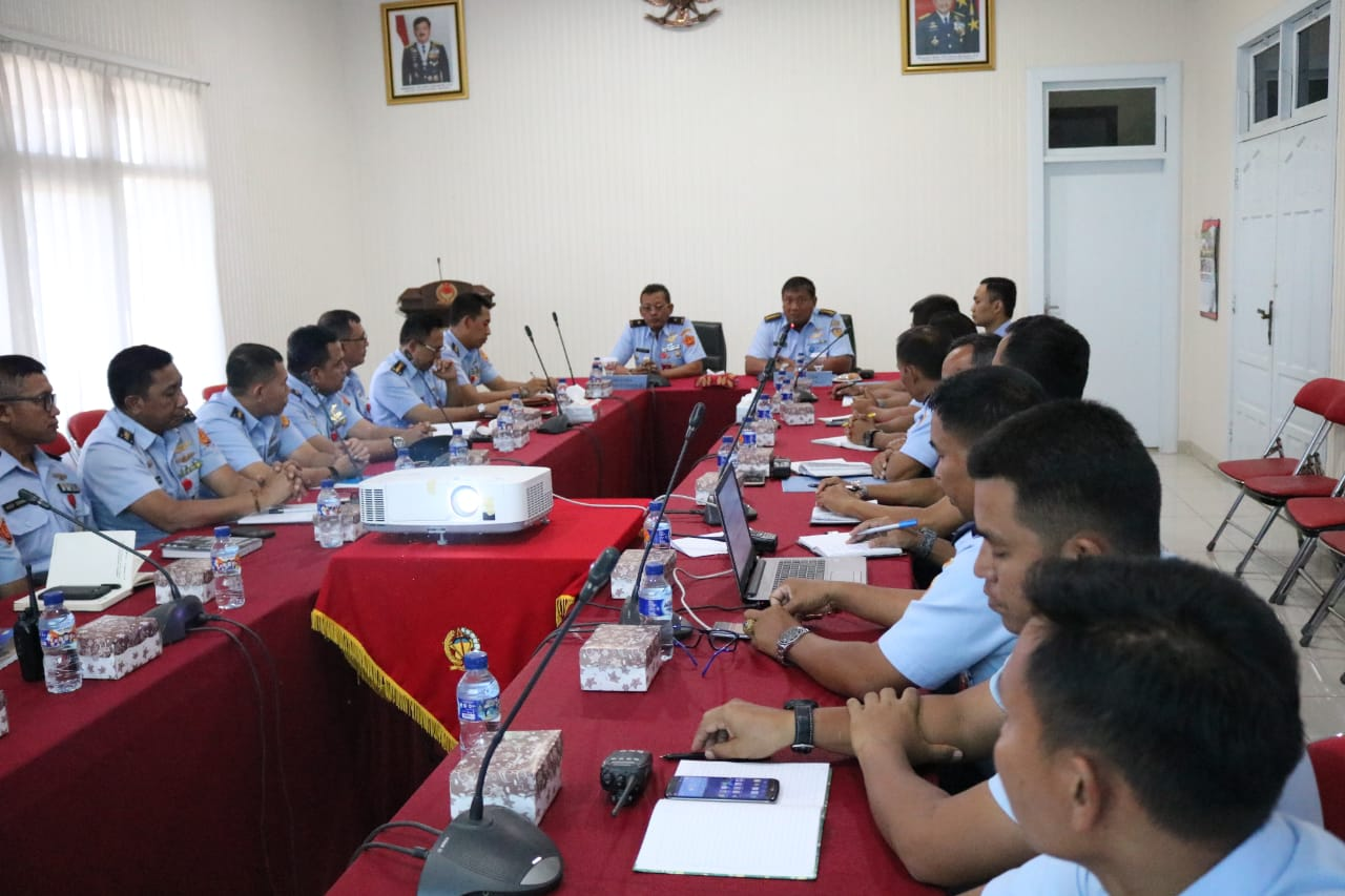 Tim Pemutakhiran Data Wasrik Itjenau di Kosekhanudnas II Makassar