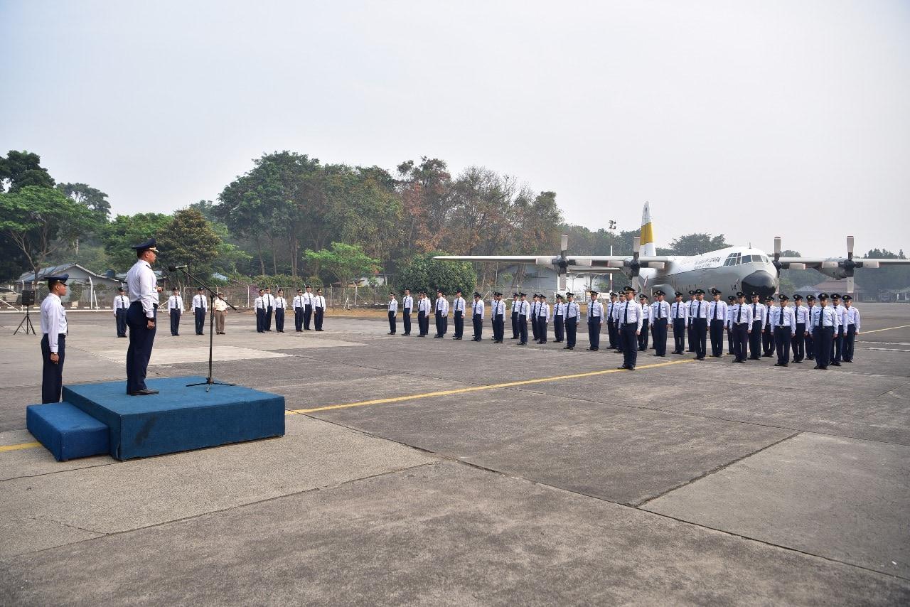 Peringatan HUT Ke-55, Skadron Udara 17 Rayakan Secara Sederhana