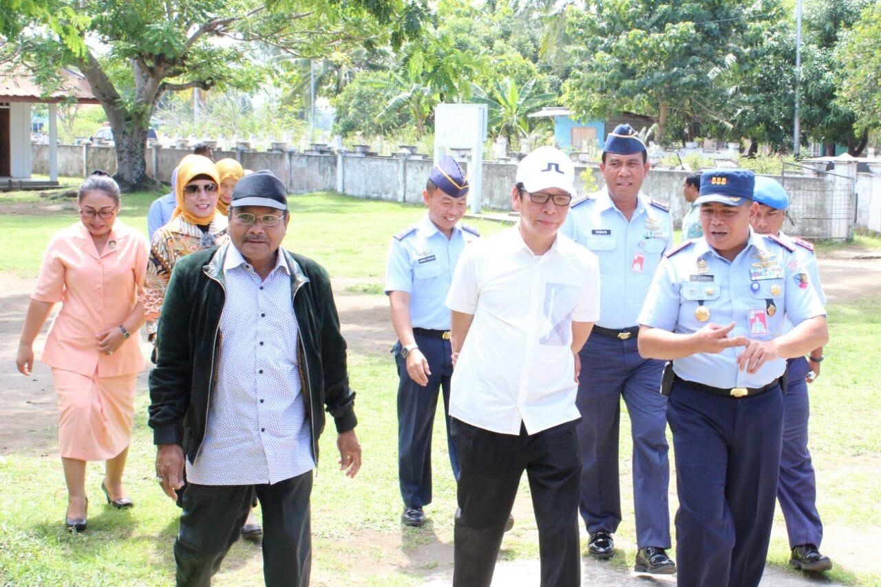 Wakil Gubernur Maluku Utara Apresiasi Mi Angkasa Lanud Leo Wattimena Dalam Kunjungannya