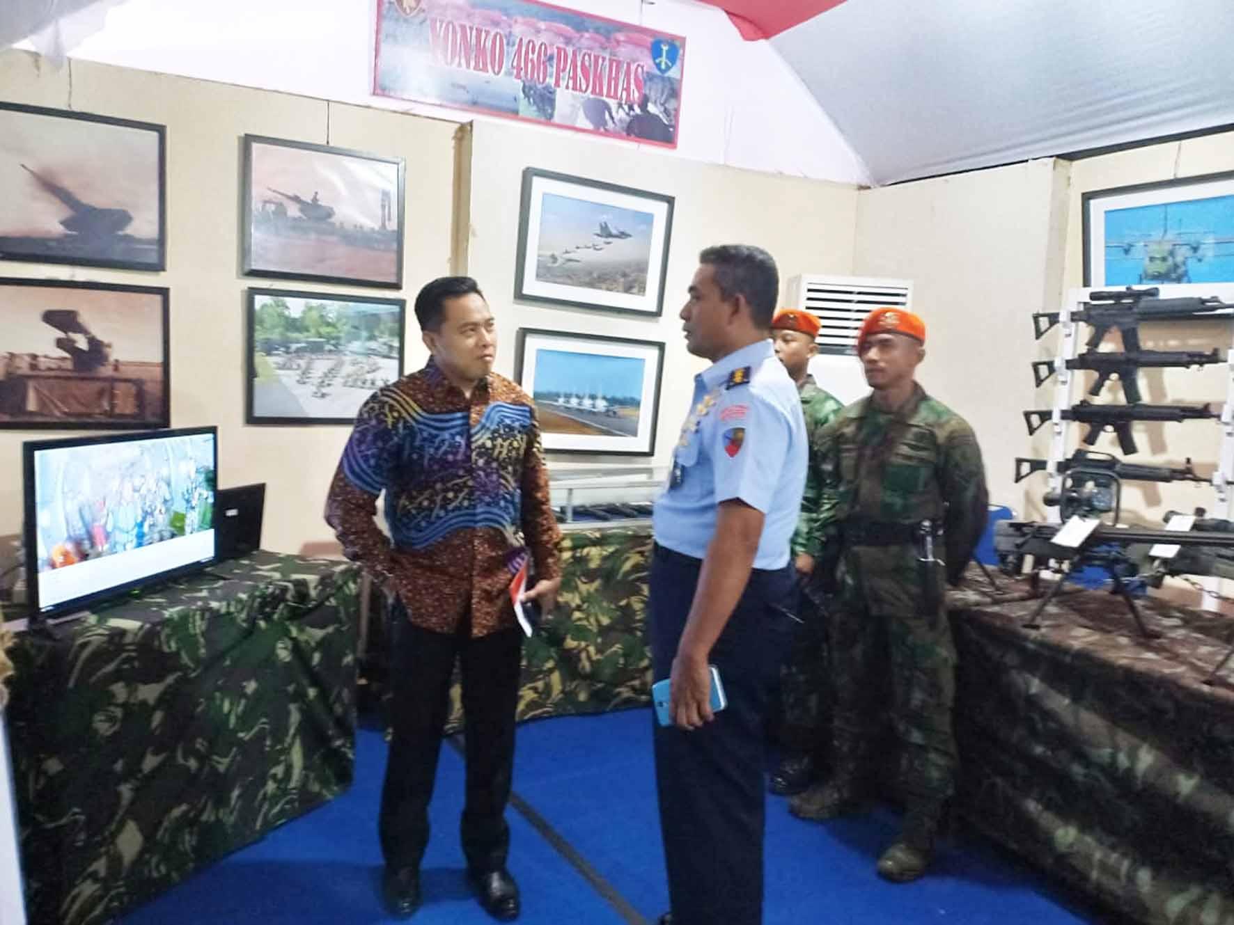 Yonko 466 Paskhas Mengikuti Pameran Pembangunan Sulsel Expo 2018