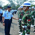 Persiapan Upacara HUT Ke-73 RI, Kasau Lepas Pasukan TNI AU