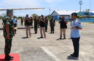 Tiba di Aceh, Panglima TNI Disambut Danlanud Sim