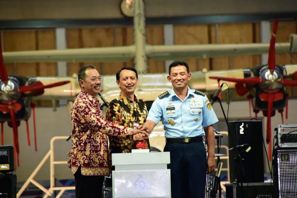 Kasau : TNI AU Dukung PT. DI Menjadi Industri Besar