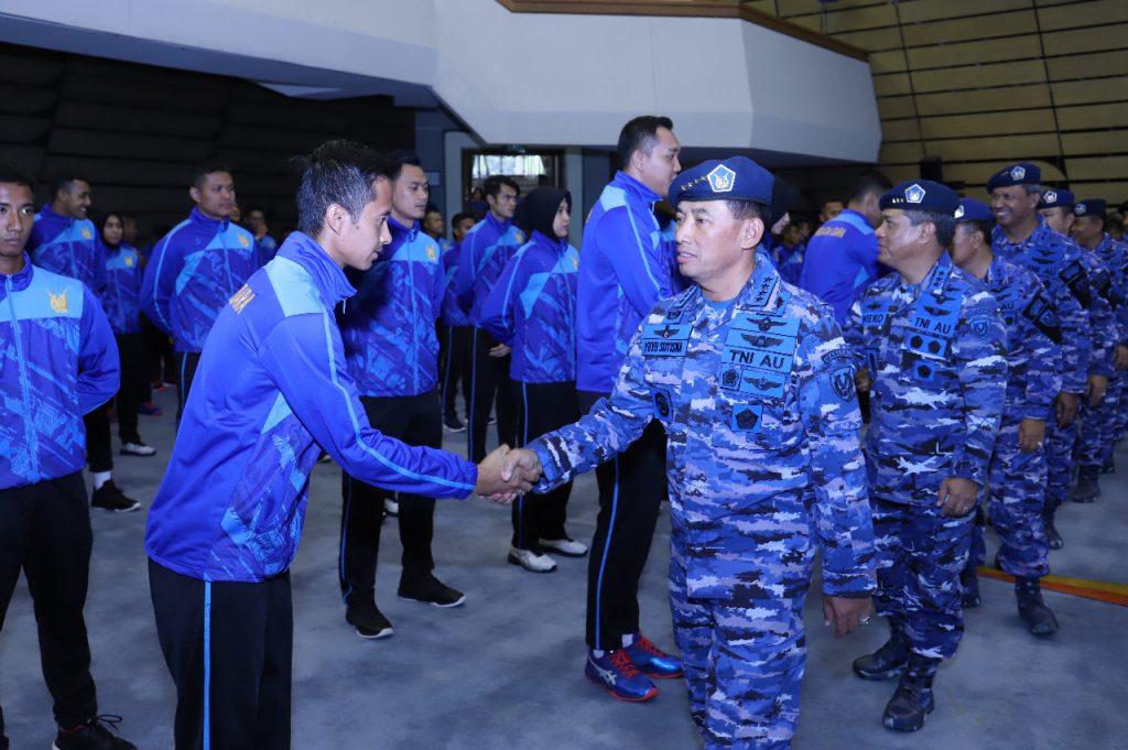 Piala Panglima TNI 2018 Kasau: Kontingen TNI AU Harus Optimis dan Junjung Tinggi Sportivitas