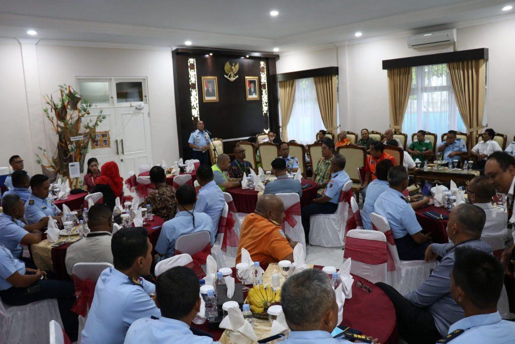 Coffee Morning Bersama Seluruh Stakeholder di Lanud Silas Papare