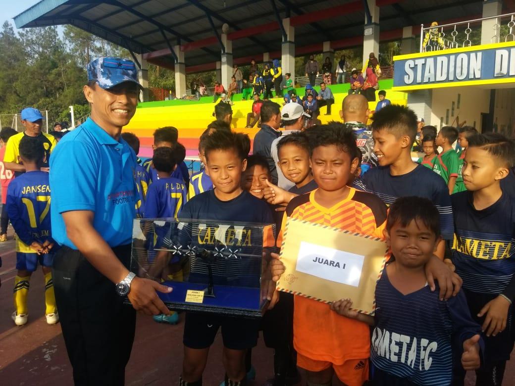SSB Kameta Malang Berhasil Menjuarai Piala Sepakbola Danlanud Abd Saleh Cup III