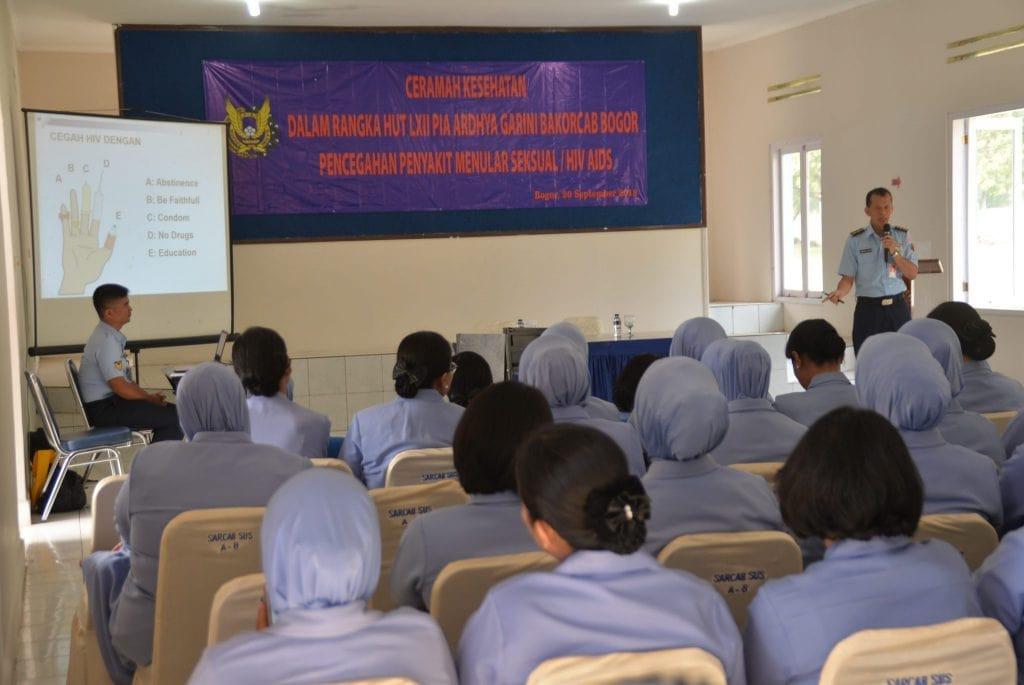 Sambut HUT LXII, PIA AG Bakorcab Bogor Menggelar Ceramah Kesehatan