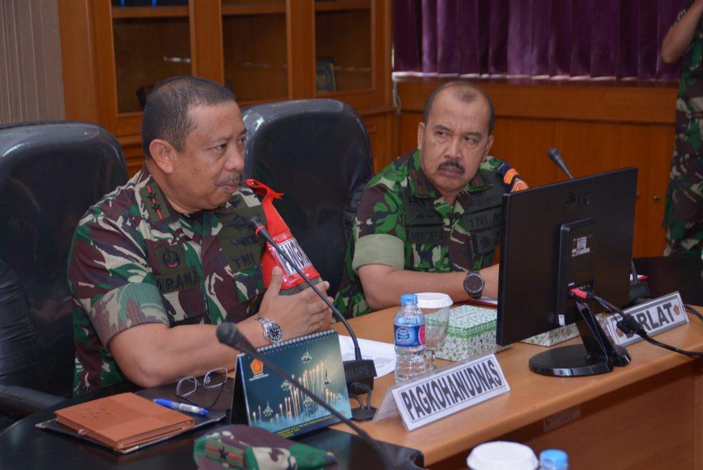 Kohanudnas Selenggarakan Latihan Hanud Tutuka Tahun 2018