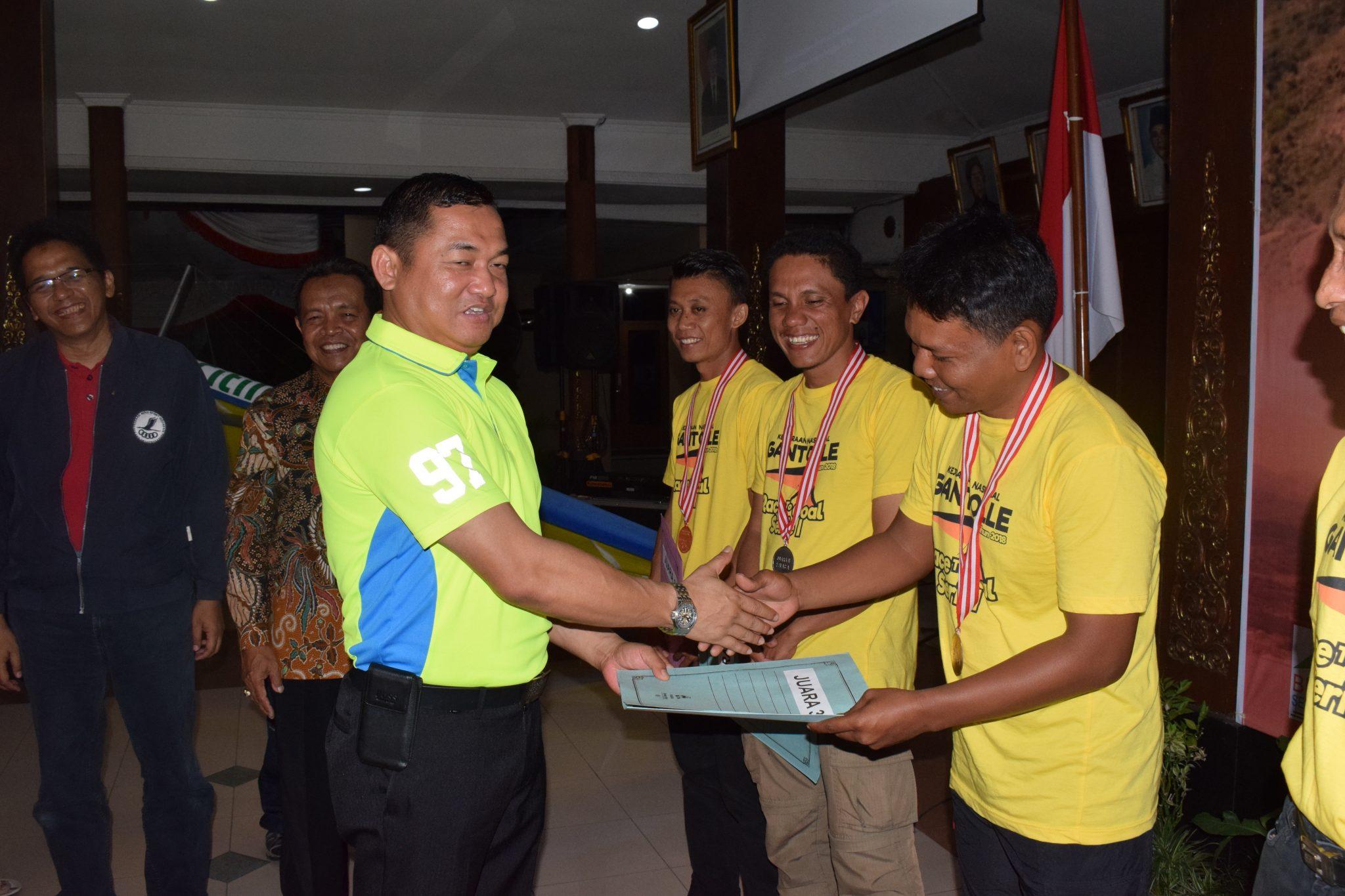 Kejurnas Gantole 2018 di Kabupaten Wonogiri Resmi Ditutup