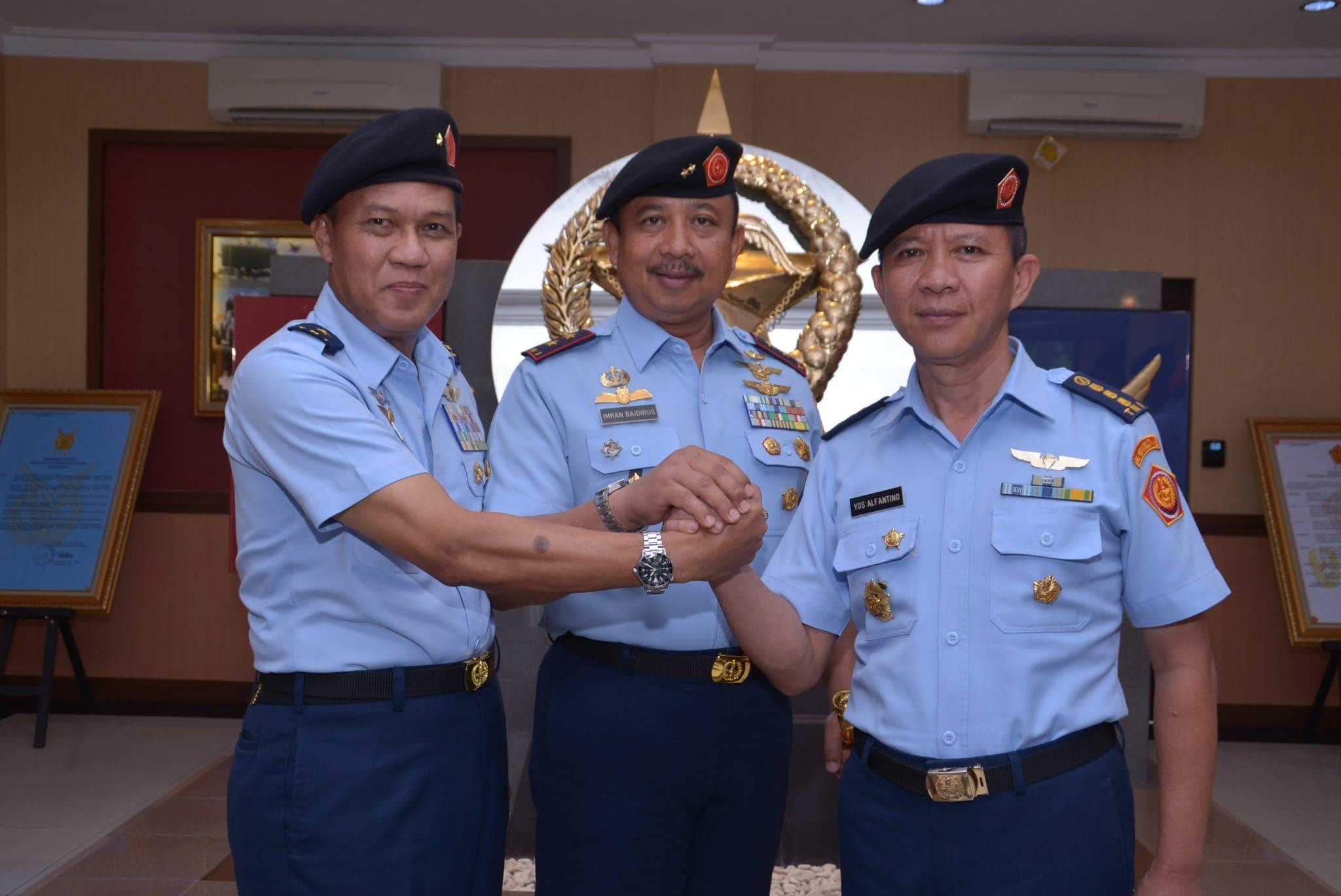 Pangkohanudnas Pimpin Serah Terima Jabatan Inspektur Kohanudnas