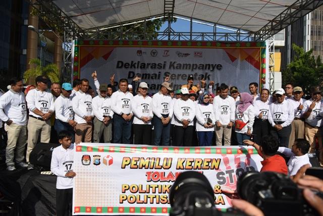 Deklarasi Kampanye Damai di Provinsi Riau