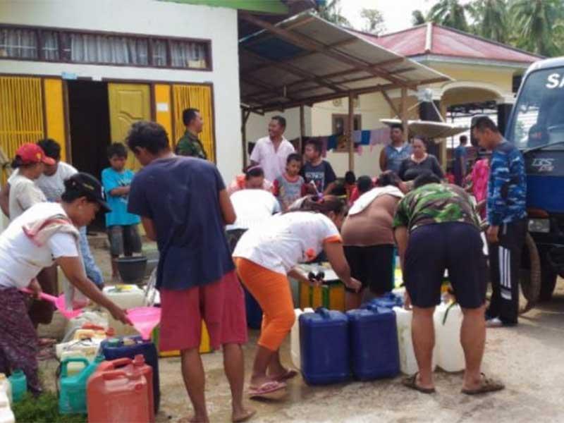 Satrad 224 Atasi Kekurangan Air Bersih di RSUD Kwandang