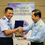 Jelang ASEAN Air Force Chiefs Conference (AACC) Kasau Adakan Pertemuan Bilateral dengan Sejumlah Pemimpin AU Negara ASEAN